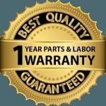 1 year Warranty from 9 1 1 Appliance